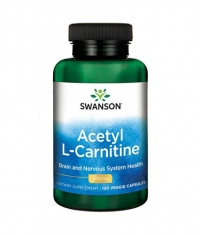 SWANSON Acetyl L-Carnitine 00mg. / 100 Vcaps