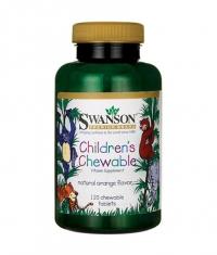 SWANSON Children's Chewable Multivitamin / 120 Chew