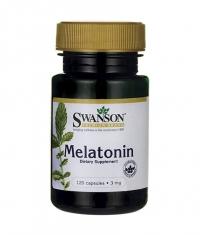 SWANSON Melatonin 3mg. / 120 Caps