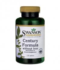 SWANSON Century Formula Multivitamin without Iron / 130 Tabs