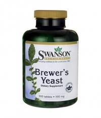 SWANSON Brewer's Yeast 500mg. / 500 Caps