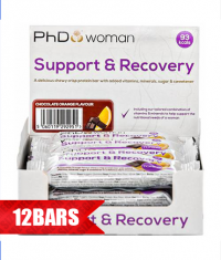 PhD Woman Support & Recovery Bar /12x30g./