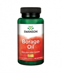 SWANSON Borage Oil 1g. / 60 Soft
