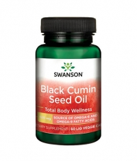 SWANSON Black Cumin Seed Oil 500mg. / 60 Vcaps