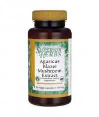 SWANSON Agaricus Blazei Mushroom Extract 500mg. / 90 Vcaps