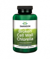 SWANSON Broken Cell Wall Chlorella 500mg. / 360 Caps