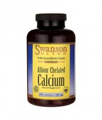 SWANSON Albion Chelated Calcium Glycinate 180mg. / 180 Caps