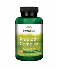 SWANSON Probiotic Complex 4 Billion CFU / 120 Vcaps