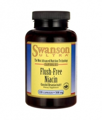 SWANSON Flush Free Niacin 500mg. / 120 Caps