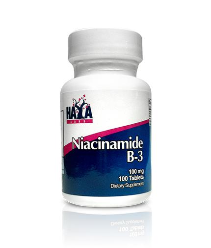 HAYA LABS Niacinamide 100 mg / 100 Tabs