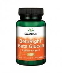 SWANSON BetaRight Beta Glucan 250mg. / 60 Caps
