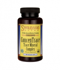SWANSON ConcenTrace Trace Mineral Complex / 60 Vcaps