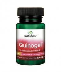 SWANSON Quinogel - Hydrosoluble Ubiquinol CoQ10 50mg. / 30 Soft