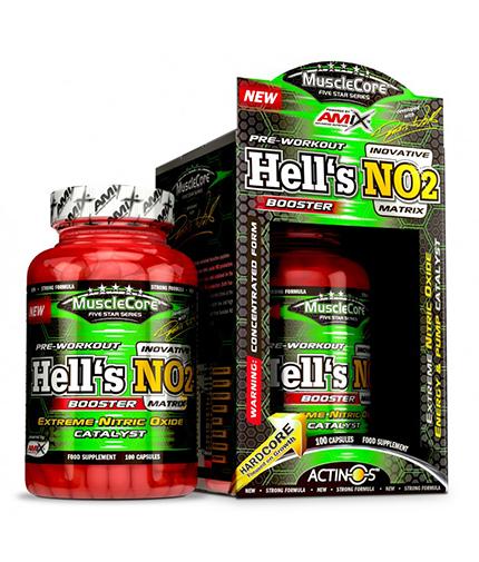 amix MuscleCore Hell's NO2 / 100 Caps.