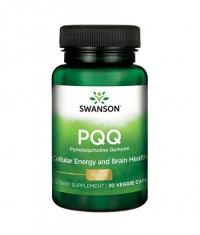 SWANSON PQQ Pyrroloquinoline Quinone 10mg. / 30 Vcaps
