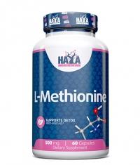 HAYA LABS L-Methionine 500mg.  / 60 Caps.