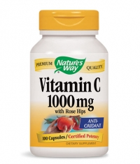 NATURES WAY Vitamin C 1000mg. with Rose Hips / 100 Caps