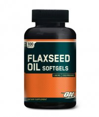 OPTIMUM NUTRITION Flaxseed Oil 100 Softgels