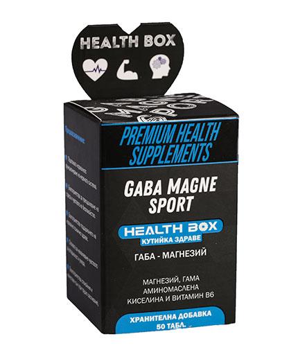 health-box Gaba Magne Sport / 50 Tabs