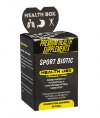 HEALTH BOX Sport Biotic / 30 Tabs