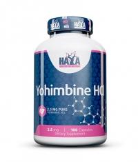 HAYA LABS Yohimbine HCL 2.5 mg. / 100 Caps.