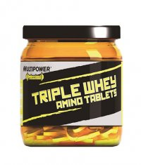 MULTIPOWER Triple Whey Amino Tablets / 300 Tabs.