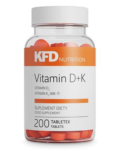 kfd Vitamin D3+K2 / 200 Tabs