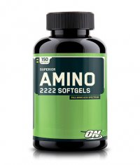 OPTIMUM NUTRITION AMINO 2222 150 Softgels