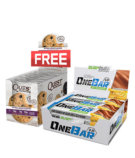 PROMO STACK One Bar + Free Cookie Promo Stack