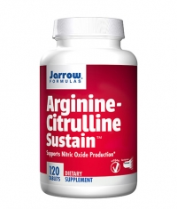 Jarrow Formulas Arginine-Citrulline Sustain / 120 Tabs