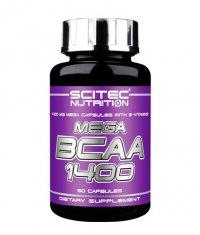 SCITEC Mega BCAA 1400 / 90 Caps.