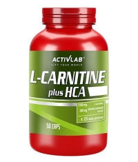 ACTIVLAB L-Carnitine plus HCA / 50 Caps