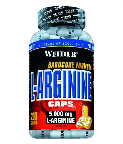 weider L-Arginine / 200 Caps.
