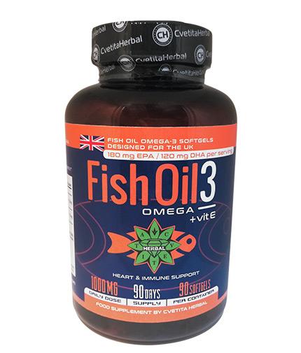 cvetita-herbal Fish Oil 3 / 90 Caps.