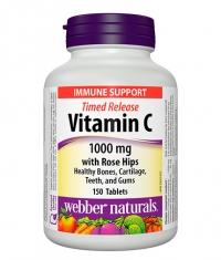 WEBBER NATURALS Timed Release Vitamin C 1000mg / 150 Tabs.