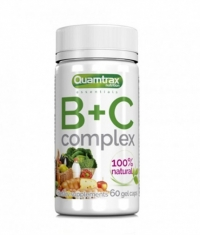 QUAMTRAX NUTRITION B+C Complex / 60 Softg.