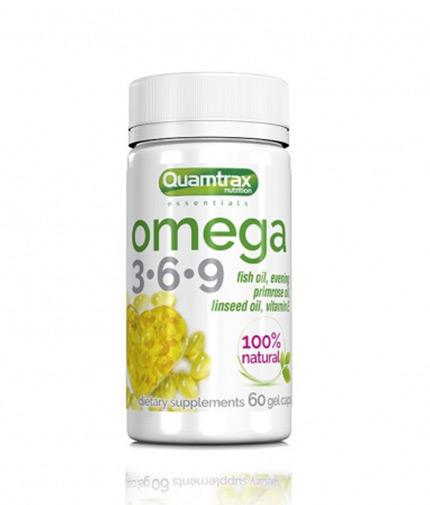 quamtrax-nutrition Omega 3-6-9 / 60 Softg.