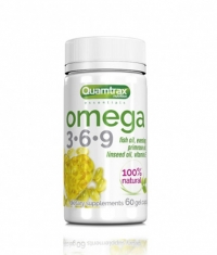 QUAMTRAX NUTRITION Omega 3-6-9 / 60 Softg.