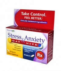 NATROL Stress & Anxiety 10+10 Tabs.