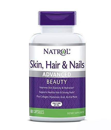 natrol Skin Hair Nails 60 Caps.
