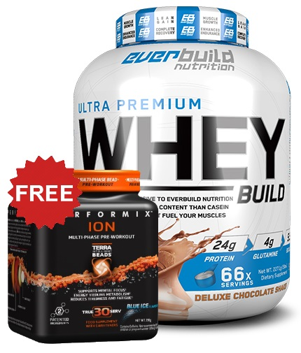 promo-stack Whey +  Pre-Workout Promo Stack