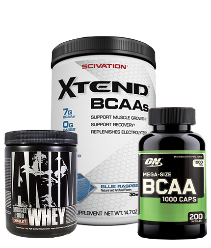 PROMO STACK NutraHolic Xtend Pack 1+2 (BCAA Mega -Exp 31.03.2019 )