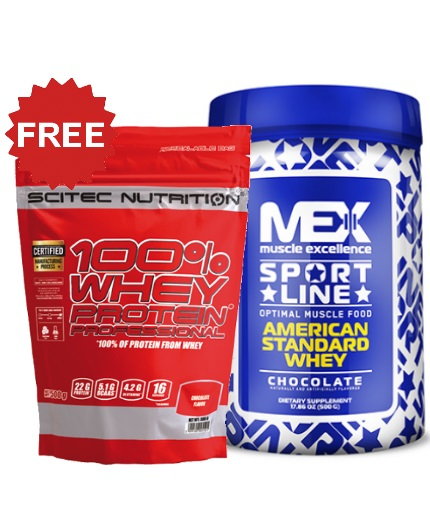 PROMO STACK Whey 1+1 FREE Stack!