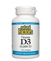 NATURAL FACTORS Vitamin D3 10000 IU / 120 Softg