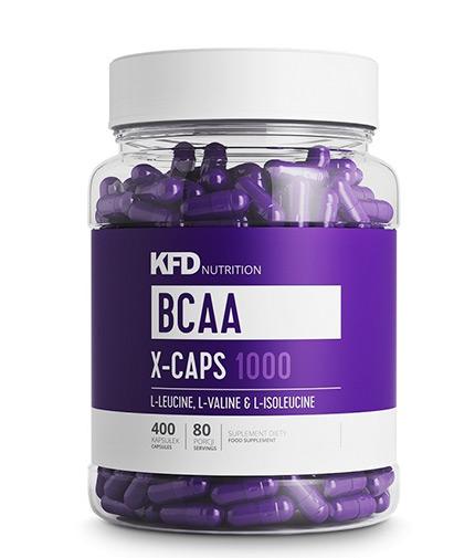 kfd BCAA X-Caps 1000 / 400 Caps.