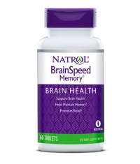 NATROL BrainSpeed® Memory / 60 Tabs.