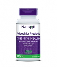 NATROL Acidophilus Probiotic 100mg. / 100 Caps.