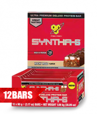 BSN Syntha-6 Deluxe Protein Bar / 12x90g