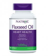 NATROL Flaxseed Oil 1000mg. / 90 Softgels
