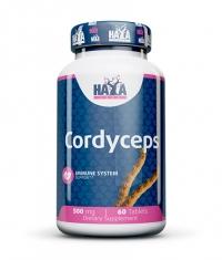 HAYA LABS Cordyceps 500mg / 60tabs